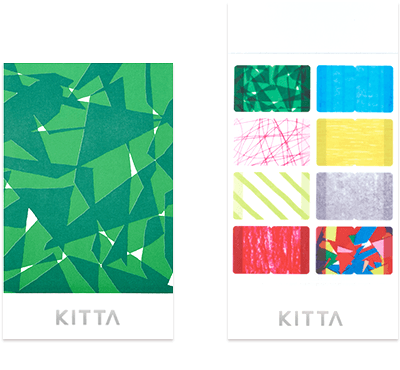 KITTA Washi Tape Index Mix / KITD012