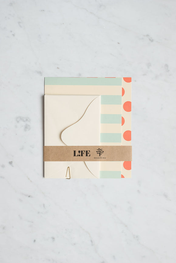 LIFE Mini Letter Set - Dot & Stripe