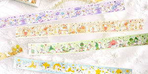BGM Foiled Masking Tape | Animal Party