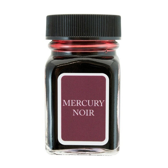 Monteverde Fountain Pen Ink 30ml / Mercury Noir