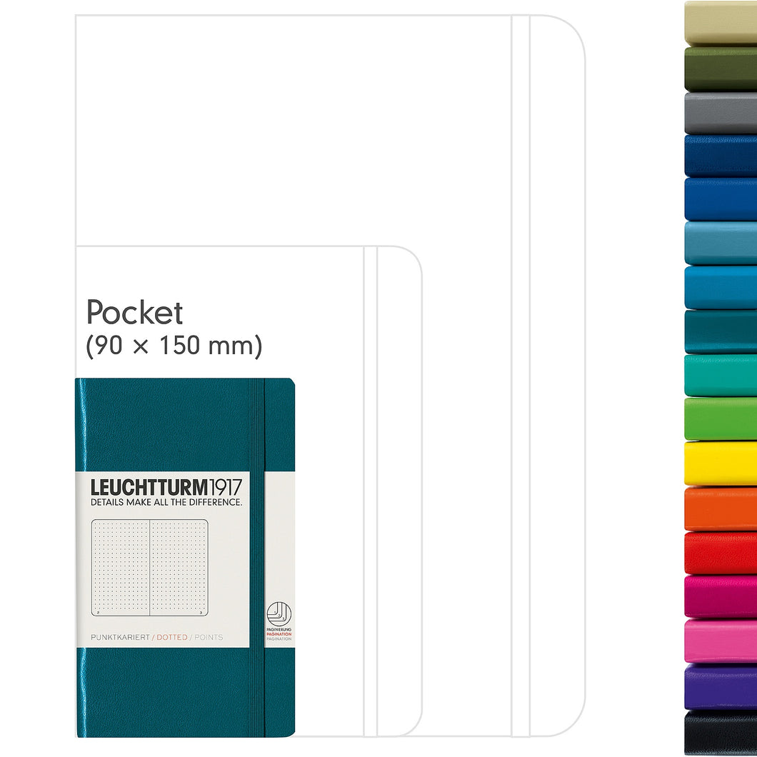 Leuchtturm1917 A6 Pocket Hardcover Notebook