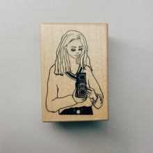 Load image into Gallery viewer, La Dolce Vita Rubber Stamp // Camera