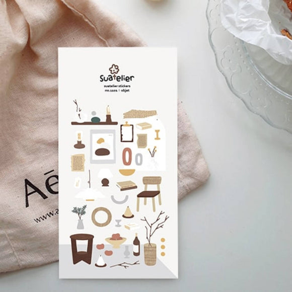 Suatelier Stickers | Object