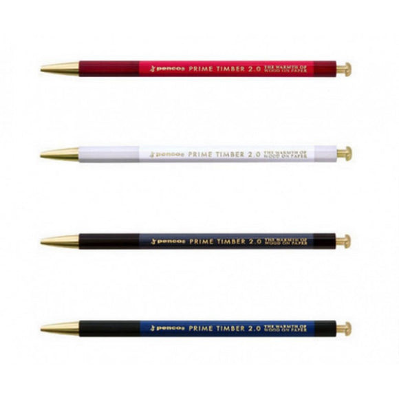 Penco Prime Timber 2.0 Brass Mechanical Pencil