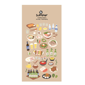 Suatelier Stickers | Food Trip #3
