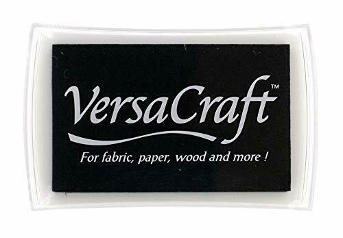 VersaCraft Large Ink Pad // Real Black
