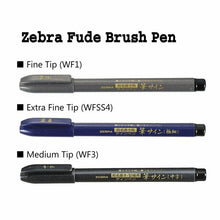 Load image into Gallery viewer, Zebra Brush Pen // Extra Fine (WFSS4)