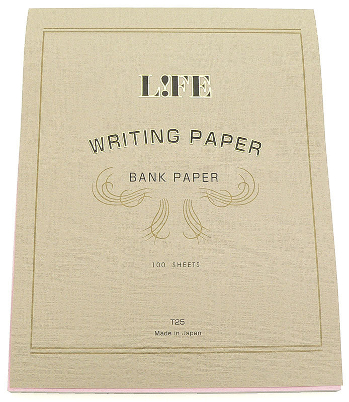 Life Bank Paper Pad for Writing