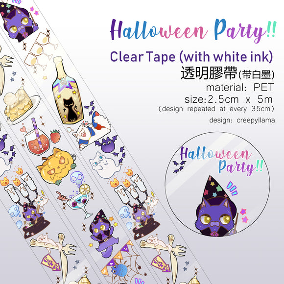 Clear Tape / Halloween Party