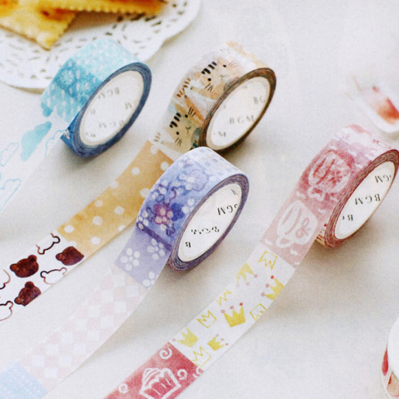 BGM Masking Tape // Autumn Series