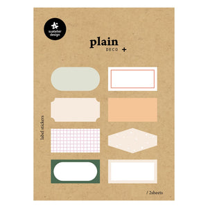 Suatelier Plain 59 Sticker Sheet