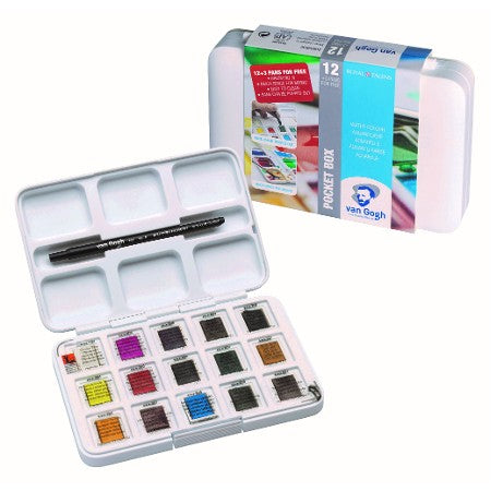 Van Gogh Pan Pocket Watercolor Set // 15