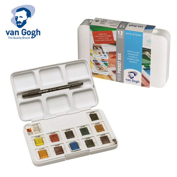 Van Gogh Pan Watercolor Set // 12