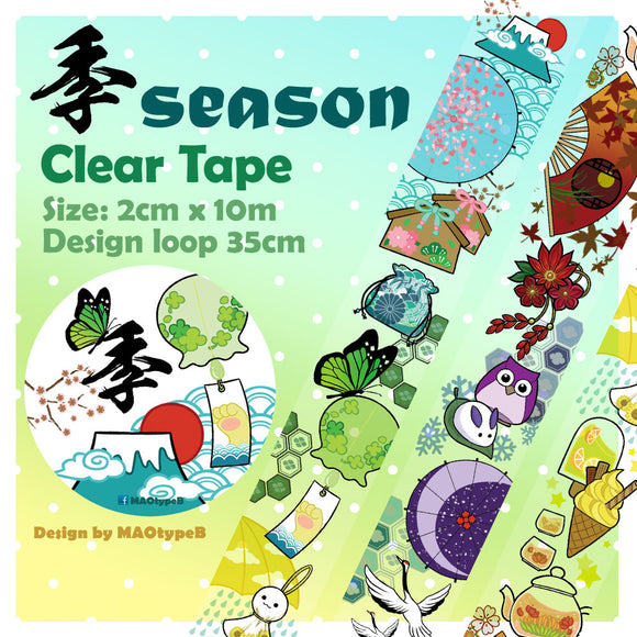 MAOtypeB Clear Tape / Season