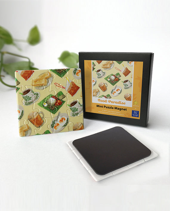 Mini Puzzle Magnet : Food Paradise