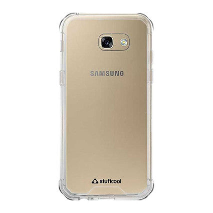 Stuffcool Aero Hybrid Hard Back Soft Frame Case Cover for Samsung Galaxy A5 2017