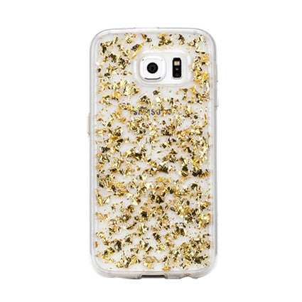 Case-Mate Karat Gold Back Case Cover for Samsung Galaxy S6 - Clear