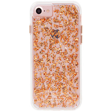 Case-Mate Karat Rose Gold Clear Back Case Cover for Apple iPhone 7