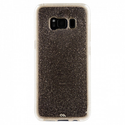 Case-Mate Naked Tough Sheer Glam Hard Back Case Cover for Samsung Galaxy S8 - Champagne