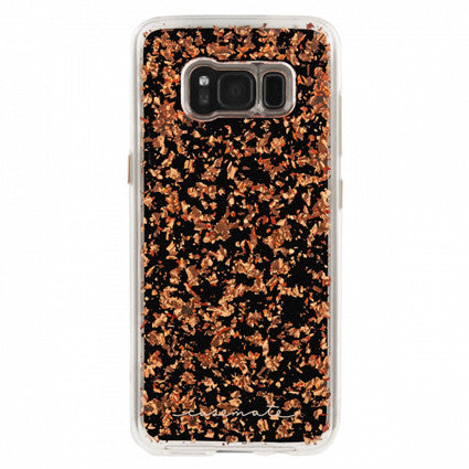 Case-Mate Karat Hard Back Case Cover for Samsung Galaxy S8 - Rose Gold