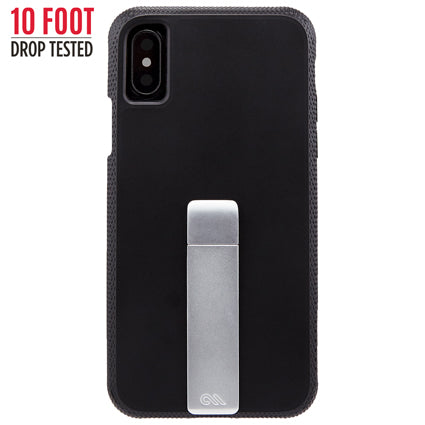 Case-Mate Tough Stand Hard Back Case Cover for Apple iPhone X - Black