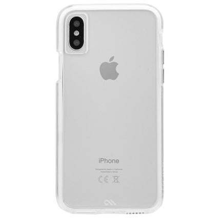 Case-Mate TOUGH CLEAR Hard Back Case Cover for Apple iPhone Xs / iPhone X - Transparent