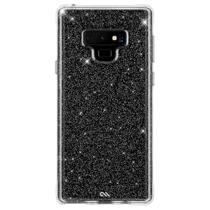 Case-Mate Sheer Crystal Hard Back Case Cover for Samsung Galaxy Note 9 - Transparent
