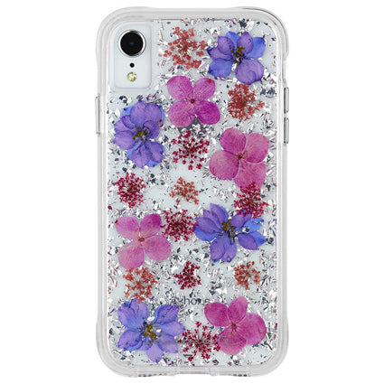 Case-Mate Karat Petals Hard Back Case Cover for Apple iPhone XR