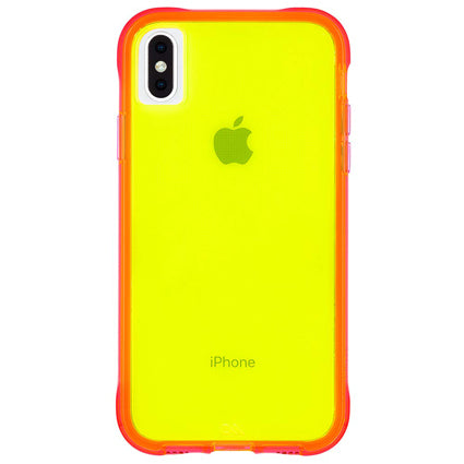 Case-Mate Tough Neon Hard Back Case Cover for Apple iPhone XS Max
