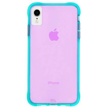 Case-Mate Tough Neon Hard Back Case Cover for Apple iPhone XR
