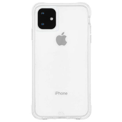 "Case-Mate Tough Hard Back Case Cover for Apple iPhone 11 6.1"" - Clear"
