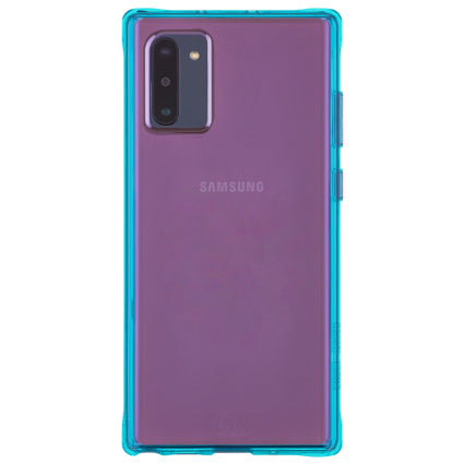 Case-Mate Tough Neon Hard Back Case Cover for Samsung Galaxy Note 10 - Purple / Turquoise