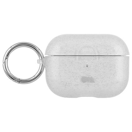 Case-Mate AirPods Pro Hookups Case Cover Silicone Compatible with Apple AirPods Pro - Sheer Crystal Clear