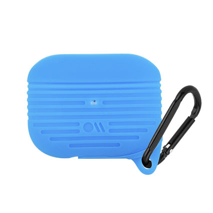 Case-Mate AirPods Pro Tough Case Cover Silicone Compatible with Apple AirPods Pro - Cobalt Blue