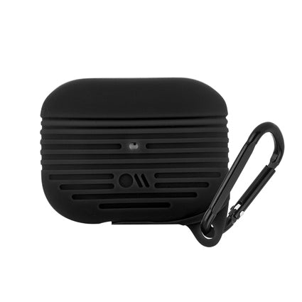 Case-Mate AirPods Pro Tough Case Cover Silicone Compatible with Apple AirPods Pro - Black