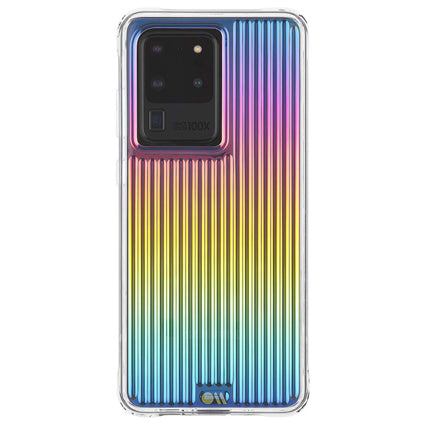 Case-Mate Groove Hard Back Case Cover for Samsung Galaxy S20 Ultra - Iridescent