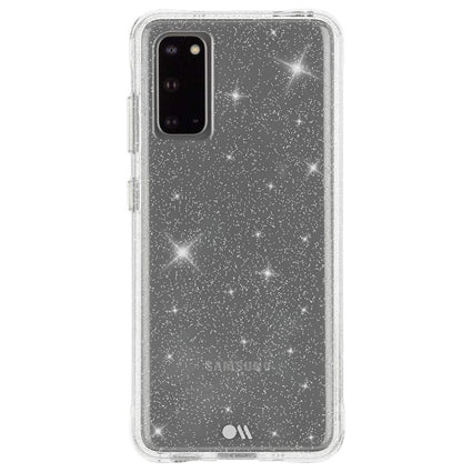 Case-Mate Sheer Crystal Hard Back Case Cover for Samsung Galaxy S20 - Clear