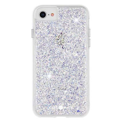 Case-Mate Twinkle Stardust Hard Back Case Cover for iPhone SE 2020 - Stardust