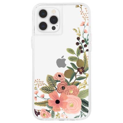 "Rifle Paper Co. Hard Back Case Cover for Apple iPhone 12 Pro Max 6.7"" - Floral Vines"