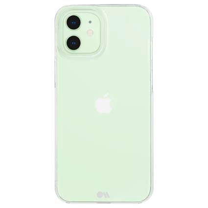 Case-Mate Barely There Clear Hard Back Case Cover for Apple iPhone 12 Mini 5.4""