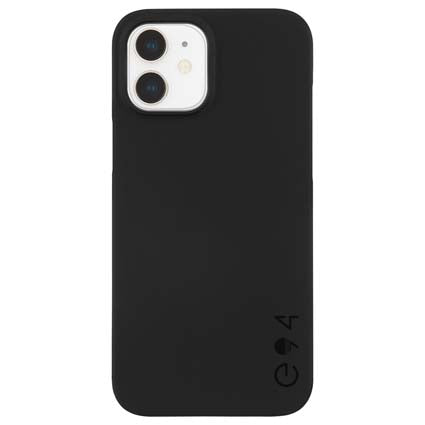 "Case-Mate Barely There Hard Back Case Cover for Apple iPhone 12 Mini 5.4"" - Black"