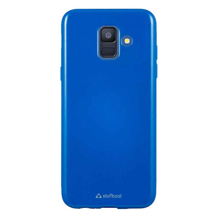 Stuffcool Color Pop Soft Back Case Cover for Samsung Galaxy A6 (2018)
