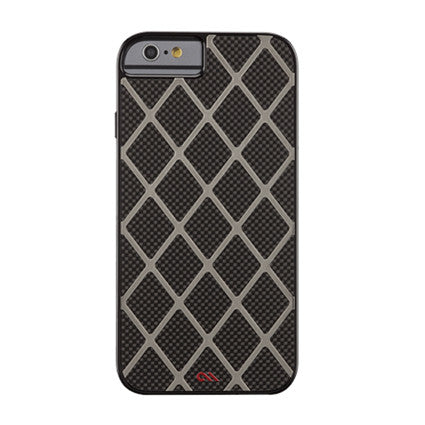 Case-Mate Carbon Alloy Hard Back Case Cover for Apple iPhone 6 / 6S