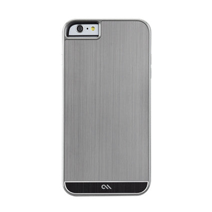 Case-Mate Brushed Aluminum Hard Back Case Cover for Apple iPhone 6 Plus