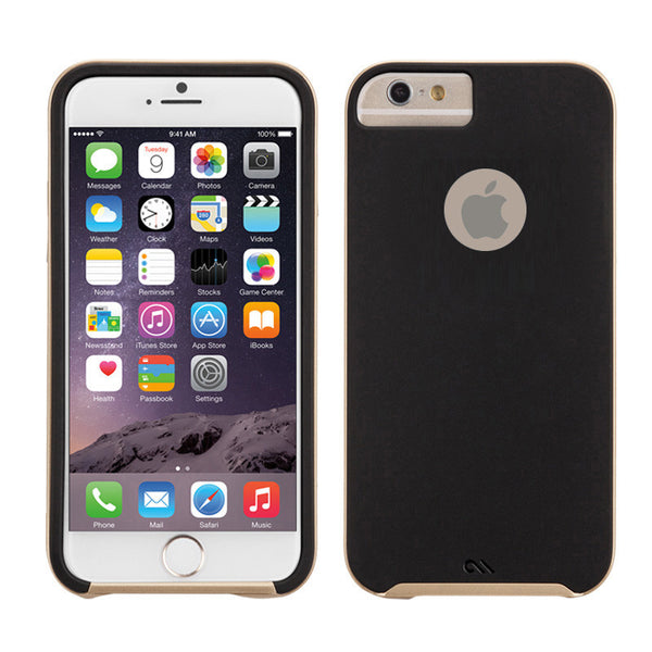 wholesale dealer 946b4 1f495 Case-Mate Slim Tough Soft Back Case Cover for Apple iPhone 7 / iPhone 6 / 6S