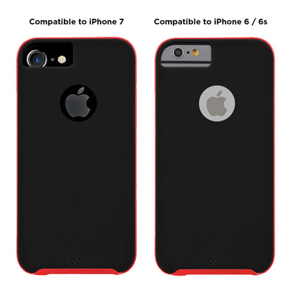 wholesale dealer dc2ee 84b6f Case-Mate Slim Tough Soft Back Case Cover for Apple iPhone 7 / iPhone 6 / 6S