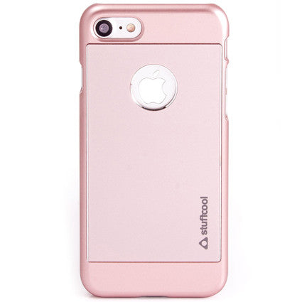 Stuffcool Deco Aluminium Hard Back Case Cover for Apple iPhone 7