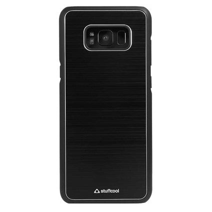 Stuffcool Deco Aluminium Hard Back Case Cover for Samsung Galaxy S8 Plus