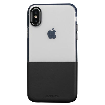 Stuffcool Demi Soft & PU Leather Back Case Cover for Apple iPhone X