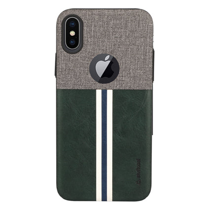Stuffcool Eto Sport Stylish & Sporty PU Leather Back Case Cover for Apple iPhone XS / iPhone X